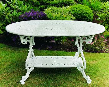 Victorian Mini Grand British Made, High Quality Cast Aluminium Garden Furniture