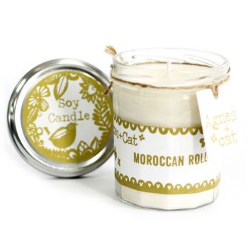 Jamjar Candle - Moroccan Roll
