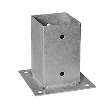 Post Anchor Bolt Down 90mm ONLY AVAILABLE WITH A PURCHASE OF 3 FENCE PANELS
