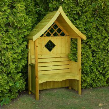 Arum Arbour Garden Arch Seat Approx 4 x 2 Feet