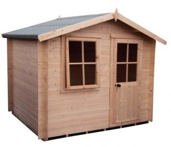 Avesbury Log Cabin Home Office Garden Room Approx 9 x 9 Feet