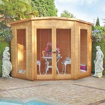 Barclay High Spec Shiplap Summerhouse Garden Sun Room Approx 10 x 10 Feet