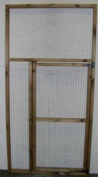 """Panel Door 6' x 3' (1"""" x 1"""" x16g)"""