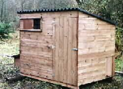 Brentford 460 Poultry House - Chicken coop for up to 25 hens