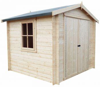 Bradley 19 mm Log Cabin 9' x 9'
