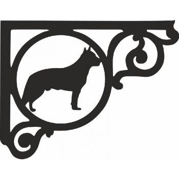 Australian Cattle Dog Shelf Bracket (Pair)