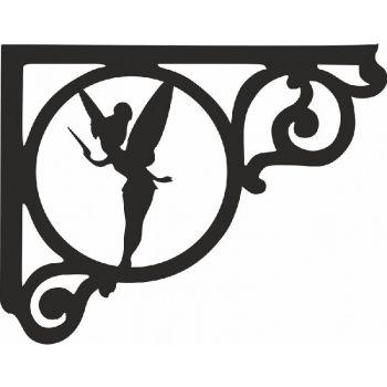 Fairy (Pair) Shelf Bracket