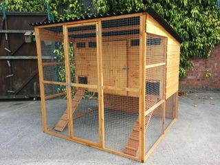 Buckingham Poultry House - Raised chicken coop - For up to 16 Hens