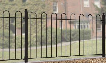 "Court Hoop Top Fence Panel 37\"" High X 6' Gap"