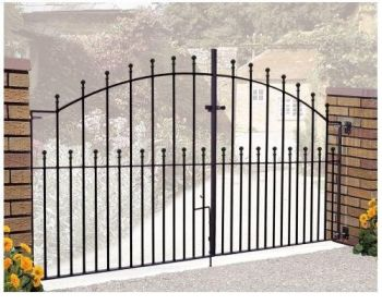 Manor Arched Double Gate 4' High X 12' Gap