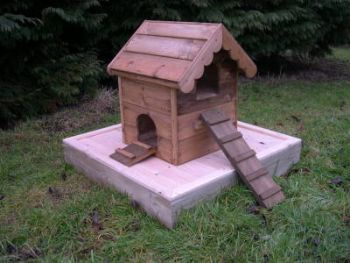Floating Duck Chalet - Two Storey