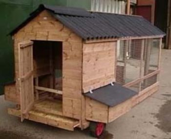 Chesford Junior Poultry House & Run - Chicken Coop for up to 8 hens
