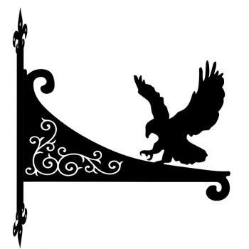 Eagle Decorative Scroll Hanging Bracket