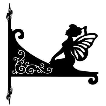 Fairy Kneeling Decorative Scroll Hanging Bracket