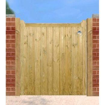 Drayton Low Wooden Single Gate 90cm Wide x 95cm High