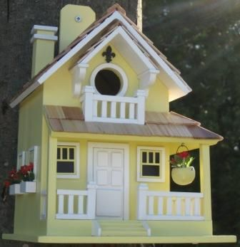 Backyard Bird Cottage Yellow