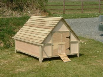 Extended Deluxe Duck House