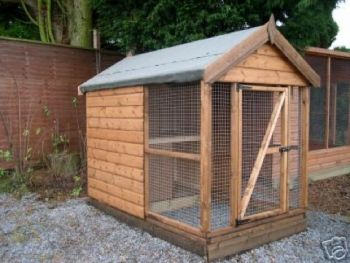 Buttercup Small Dog or Cat Run, Outdoor Pet Kennel or Catery