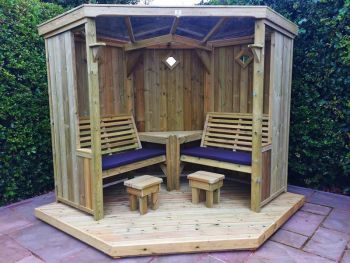 Four Seasons with  Decking - Assembly included