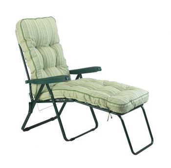Deluxe Cotswold Stripe Lounger