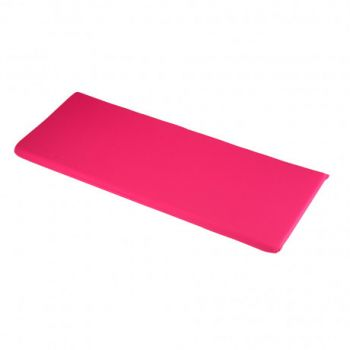 Hot Pink 2 Seater Bench Cushions 116 x 46 x 4cm