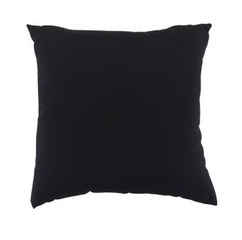 "Scatter Cushion 18"" x 18\"" Black"