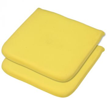 Elfin Yellow Seat Pad 40x40x4cm