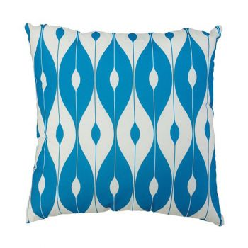 "Scatter Cushion 18""x18\"" Light Blue pattern"