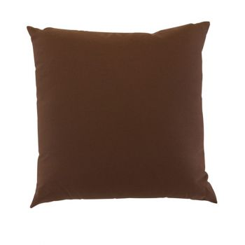 """Scatter Cushion 12\""""x12\"""" Chocolate"""