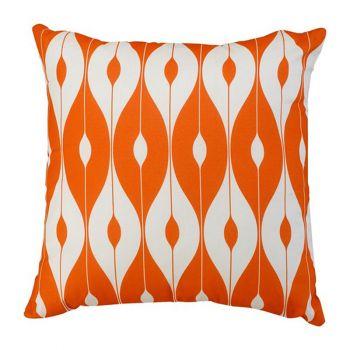 "Scatter Cushion 12\""x12\"" Orange pattern"