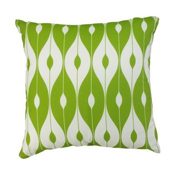 "Scatter Cushion 12""x12\"" Green pattern"