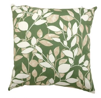 """Scatter cushion 18\""""x18\"""" Cotswold Leaf"""