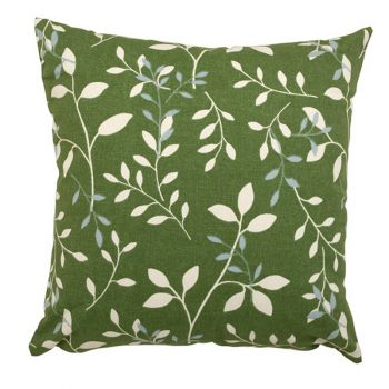 "Scatter cushion 18""x18\"" Country Green"