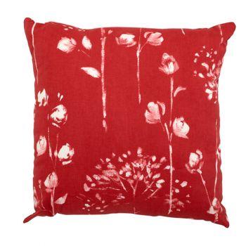 """Scatter cushion 18\""""x18\"""" Renaissance Rouge"""