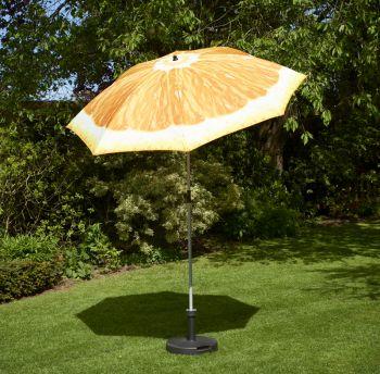 2m Orange Parasol