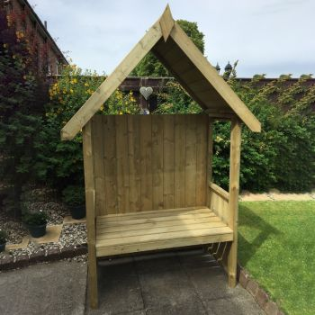 Hebe 4' x 2' Pressure Treated Arbour
