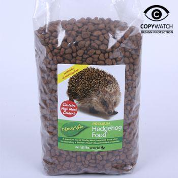 Wildlife World Nourish Hedgehog Food Dry 1kg