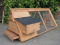 Highlander Ark Junior Chicken House - Poultry coop for up to 3 hens