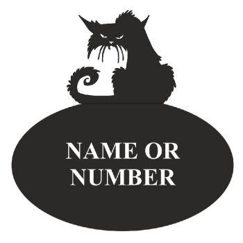 Grumpy Cat Oval House Plaque - Regular