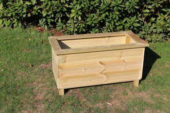 Trough Planters, wooden garden pot/tub for plants