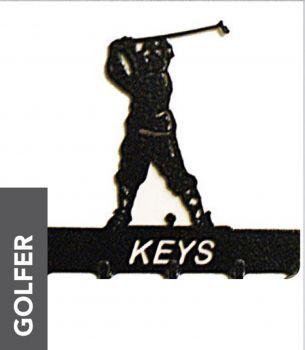 Golfer Key Holder