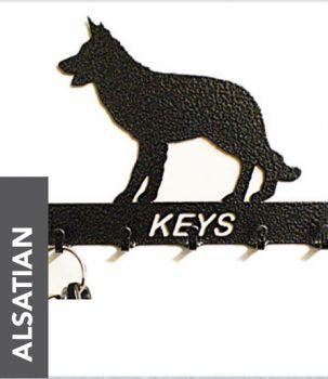 Alsatian Key Holder