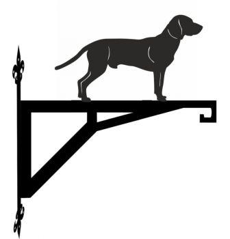 Bavarian Mountain Dog Modern Contemporary Hanging Bracket