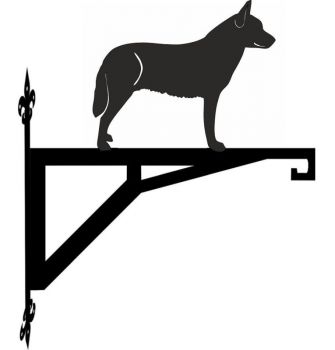 Australian Cattle Dog Standing Modern Contemporary Hanging Bracket