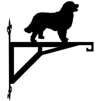 Bernese Mountain Dog Modern Contemporary Hanging Bracket