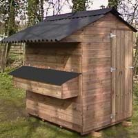 Midi Ranger Poultry House, chicken shed for up to 50 hens
