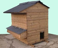 Mini Ranger Poultry House - Chicken shed for up to 20 hens