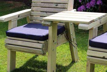 Waterproof Seat Pads - Single Navy Cushion