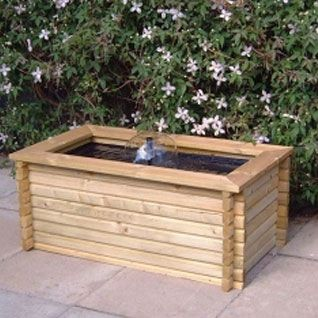60 gallon Rectangular pool