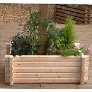 Buildround 18x27 rec planter